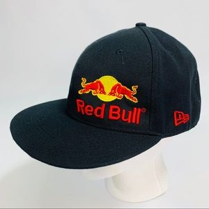New Era Red Bull 100% Wool Fitted Hat